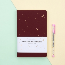Планинг датированный 2019 'The Starry Night'  / Redbrown
