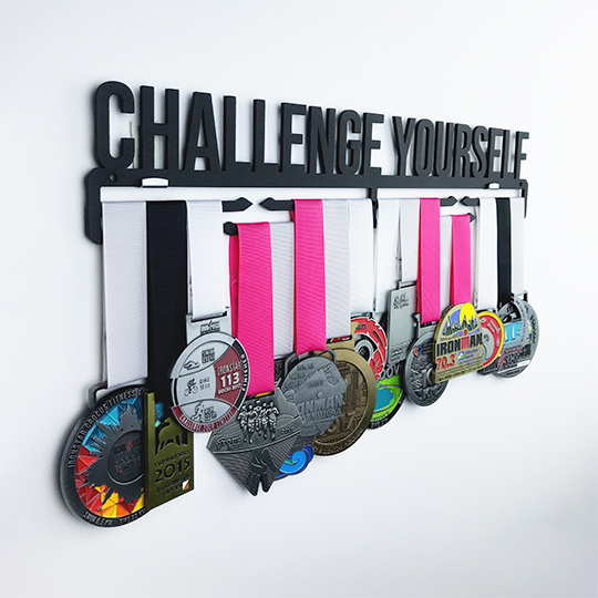 Медальница 'Challenge yourself'