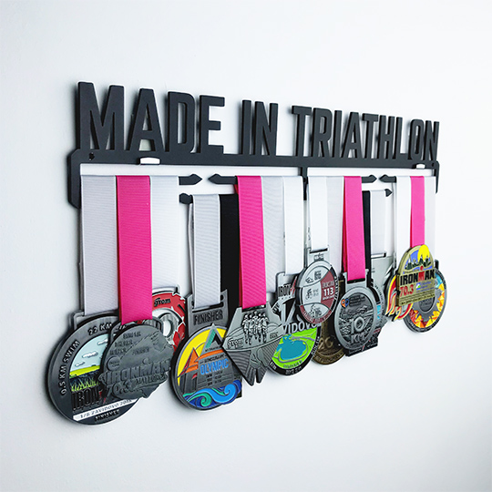 Медальница 'Made in triathlon'