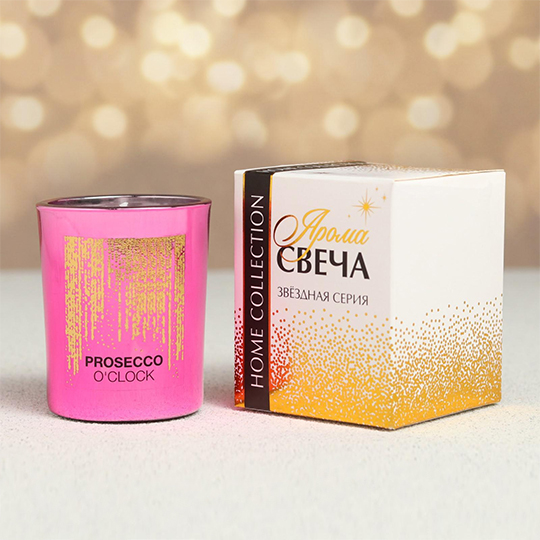 Свеча 'It is prosecco time'